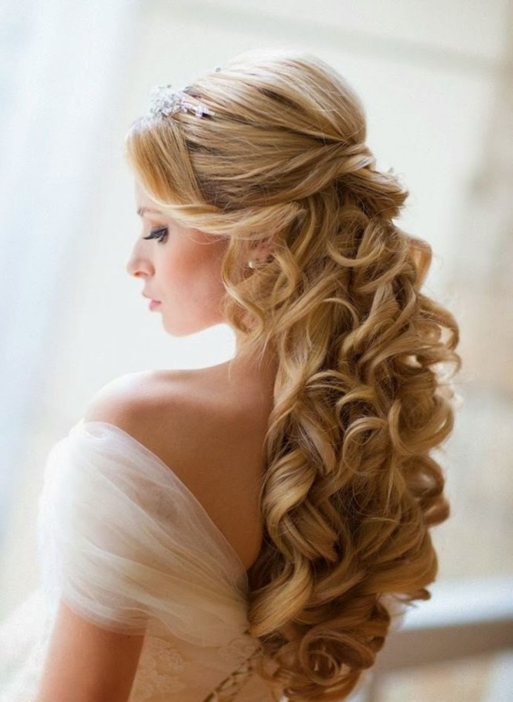 Прическа с крупными локонами на длинный волос