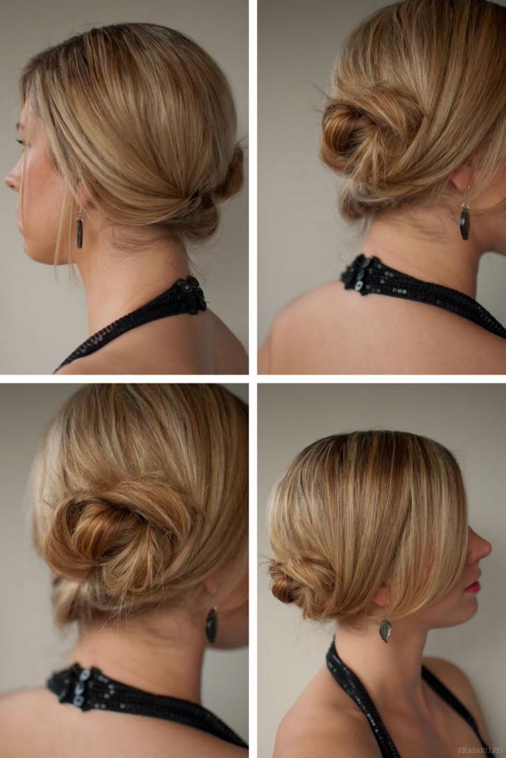 прически на тонкие жидкие волосы на каждый день