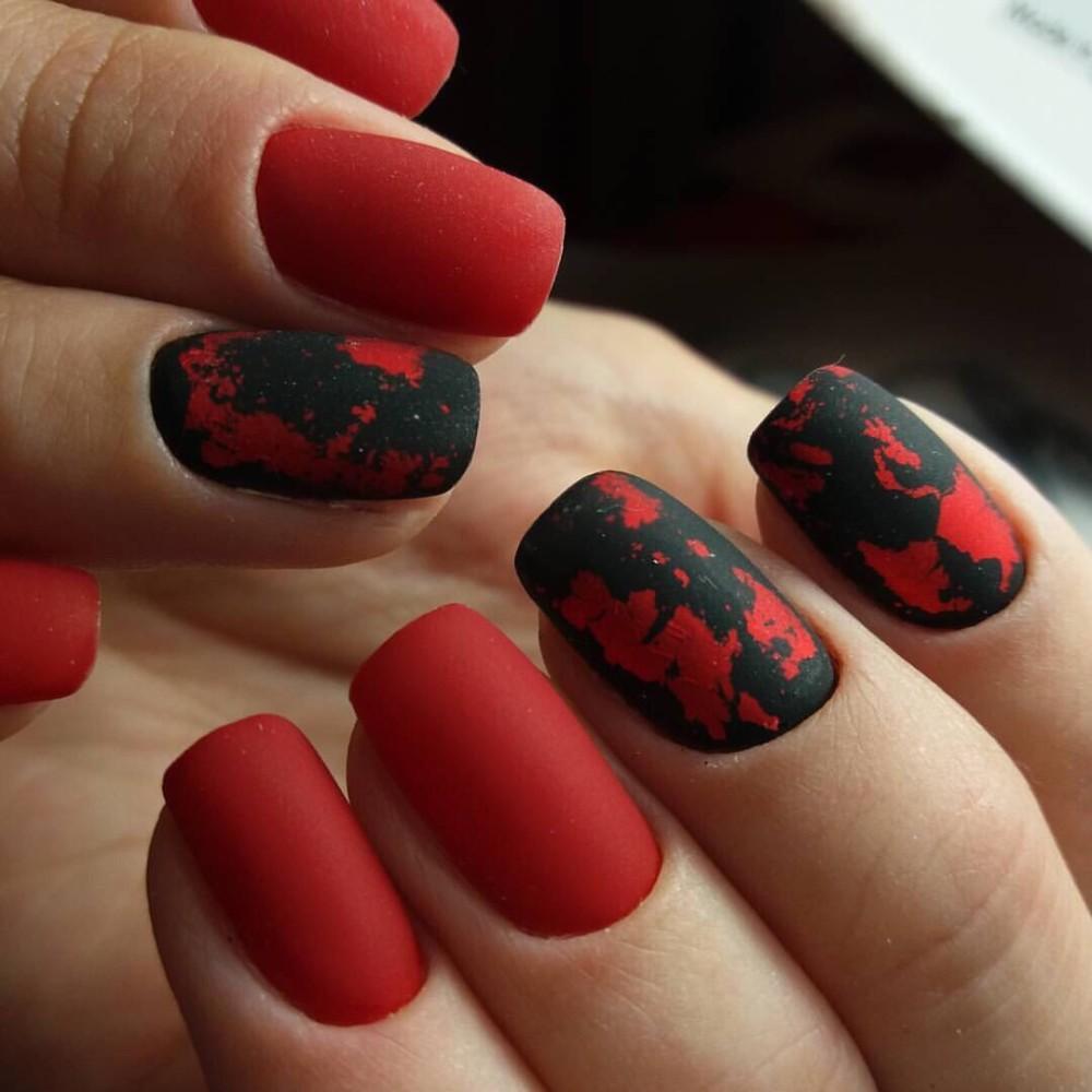 Дизайн ногтей матовые 2017 новинки