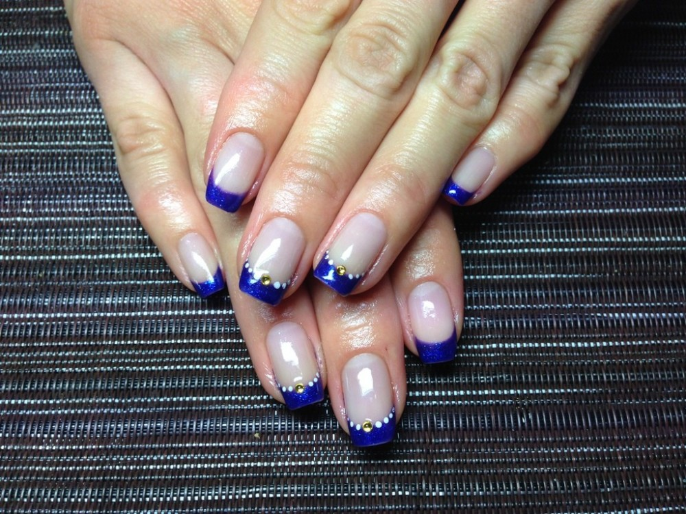 следи тем, синий французский ногти фото нравится моё