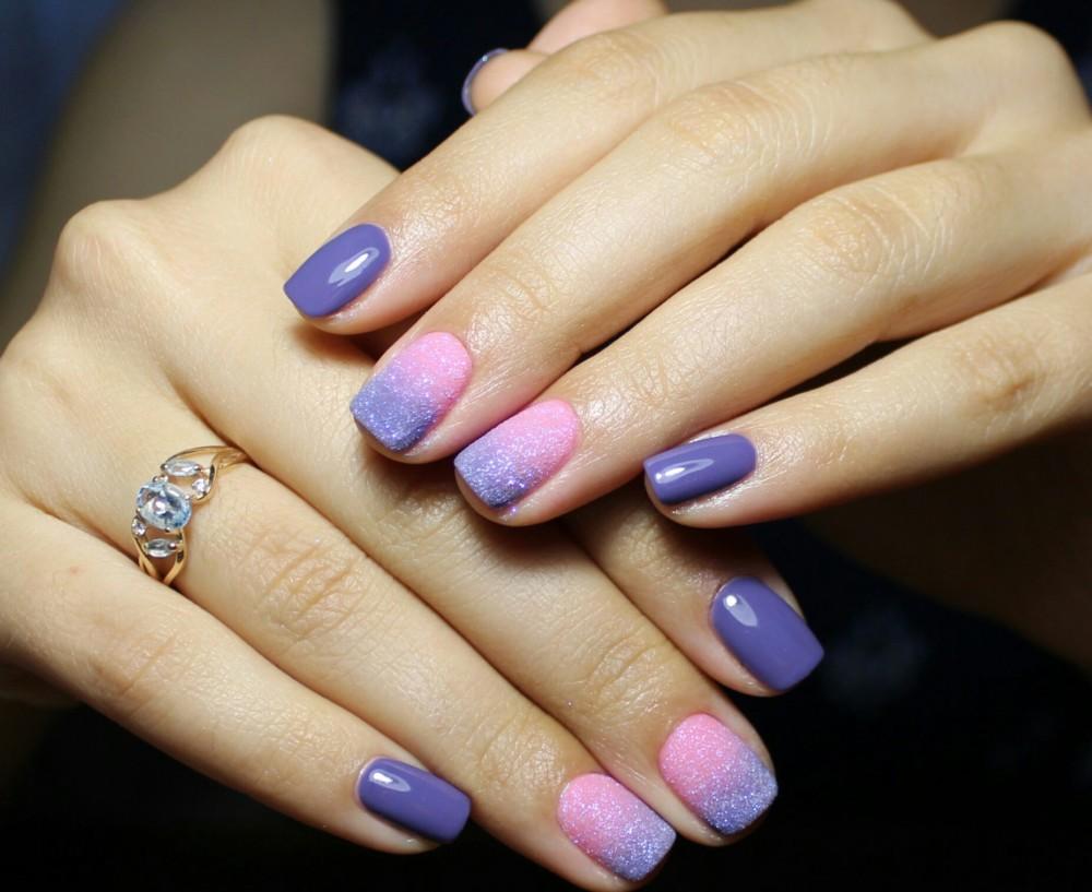 Мармелад для ногтей (Меланж) Nail Passion Меланж-сахарок 2
