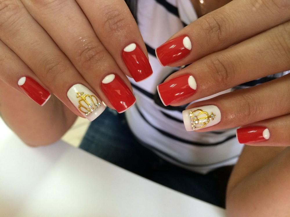 Дизайн ногтей фото 2015 современные идеи красный цвет