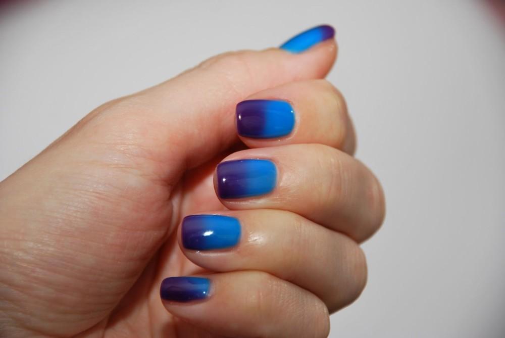 Фото ногти обычный лак