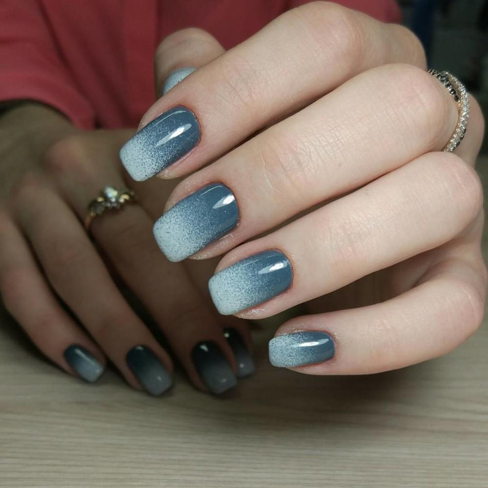 Маникюр омбре - 100 фото новинок модного дизайна ногтей. Техникой ...