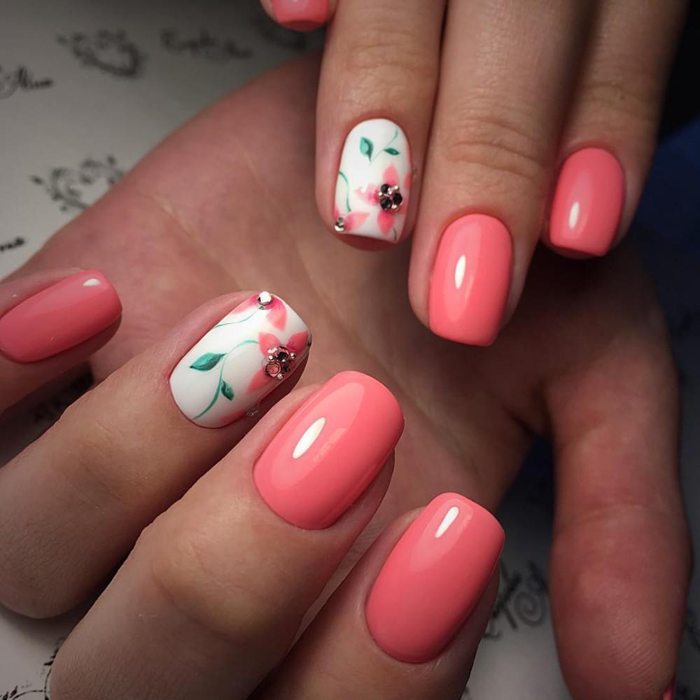 пошаговые рисунки на ногтях фото гель лак