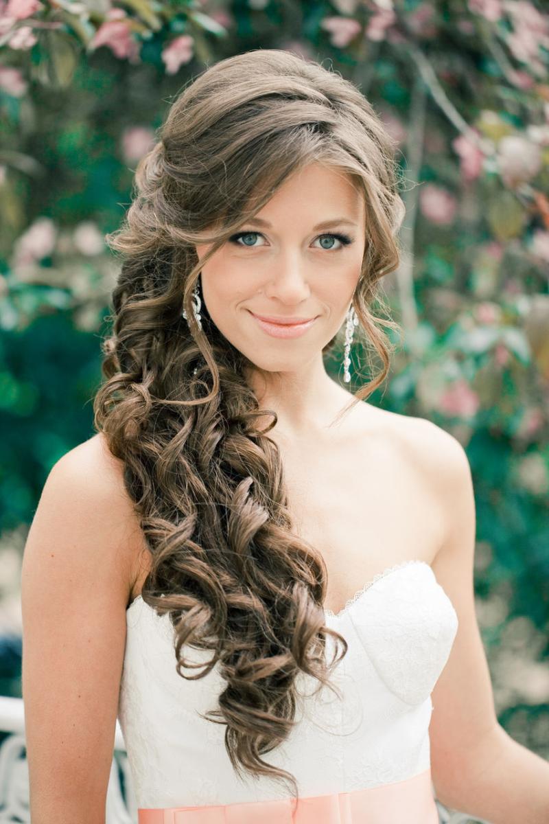Модные прически на длиные волосы
