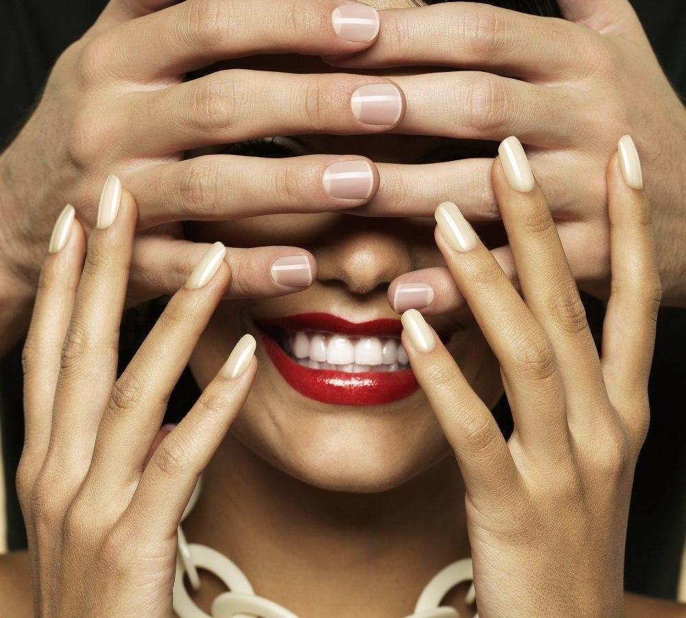 Ногти Шеллак Темные Дизайн
