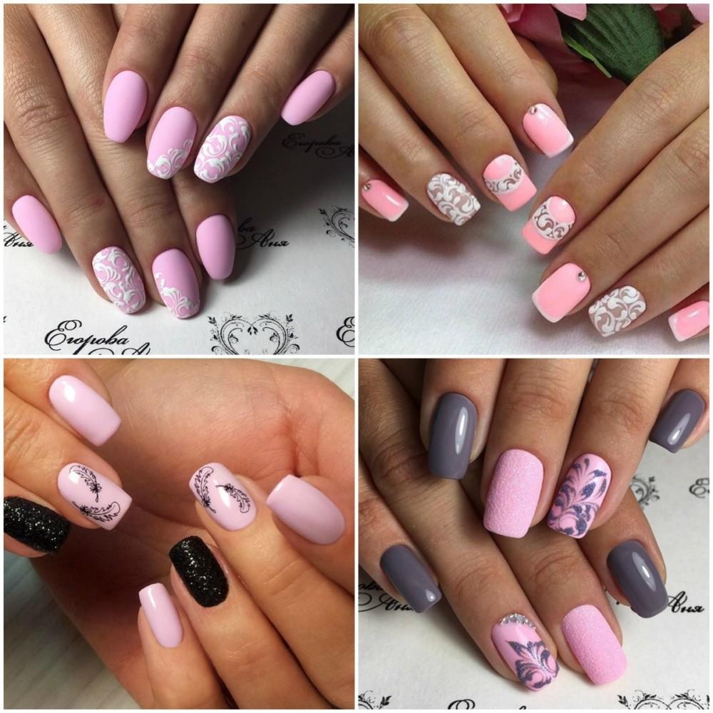 Почему ногти розового цвета