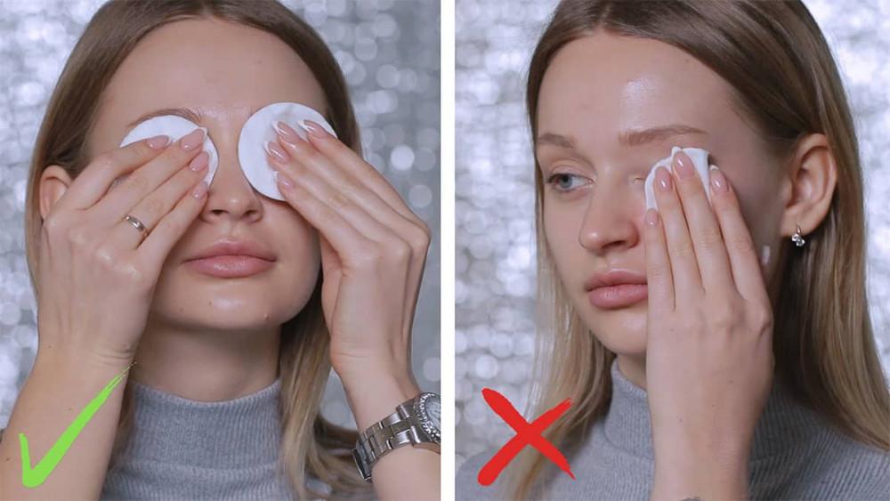 тоник для снятия макияжа с глаз.