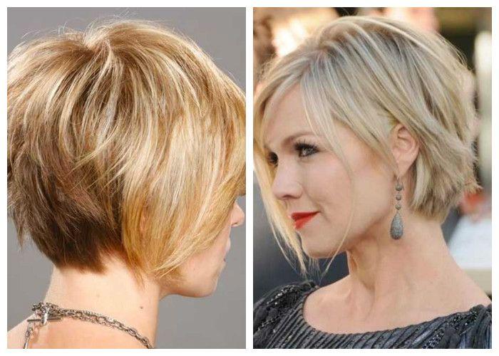 женская стрижка боб на короткие волосы
