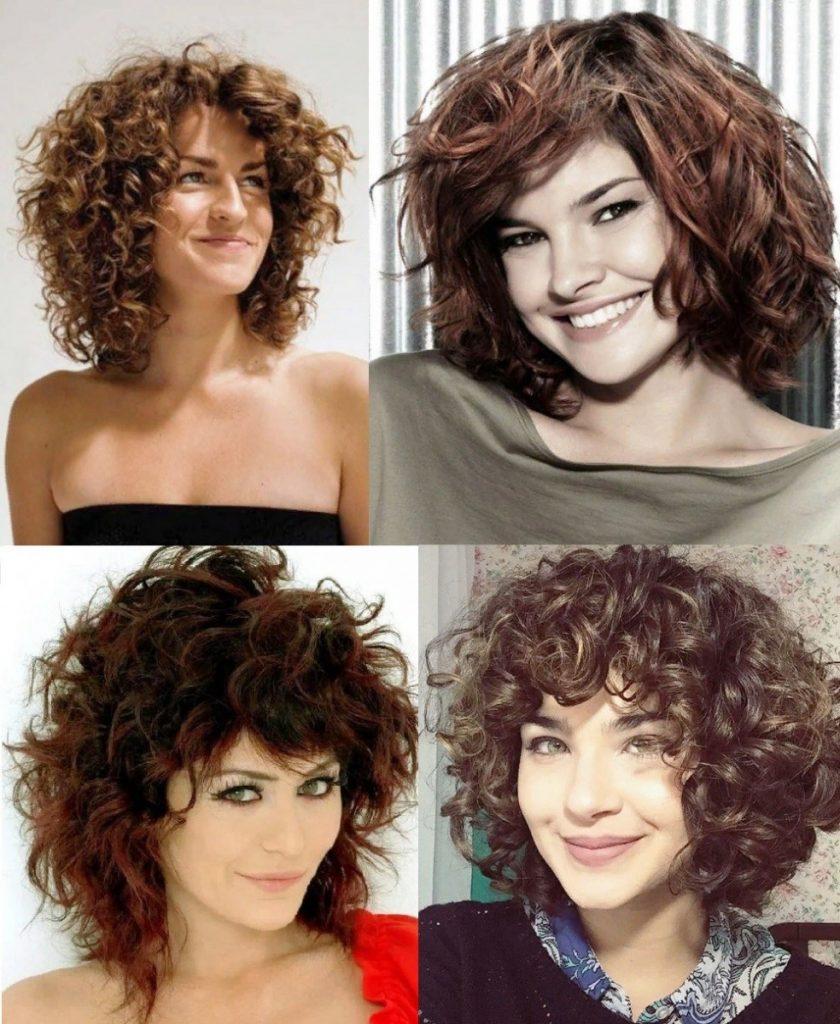 женская короткая стрижка аврора для кудрявых волос