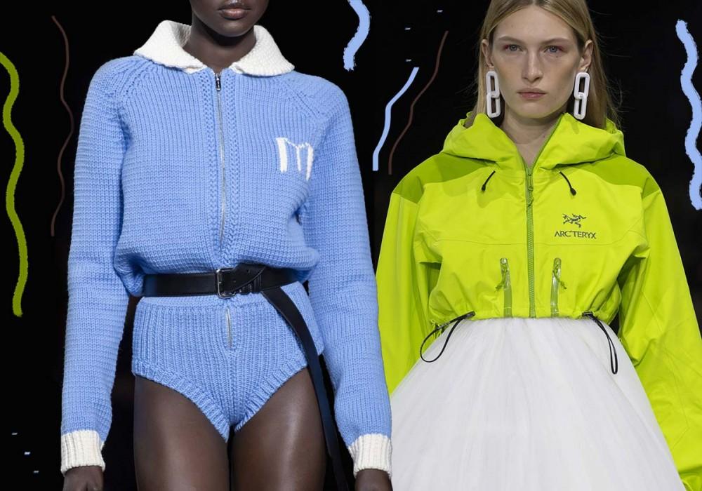 структурированность изделий мода 2020