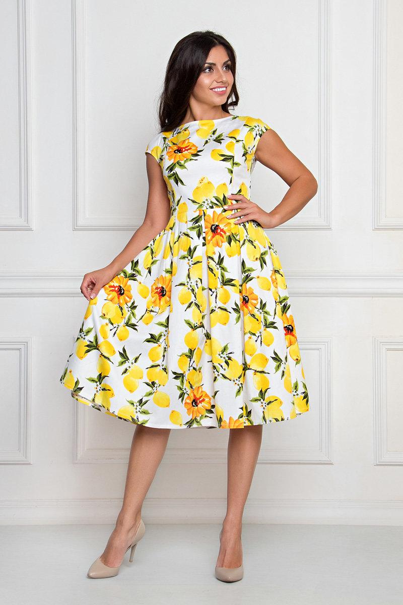 нарядное платье из хлопка