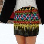 юбка из палантина