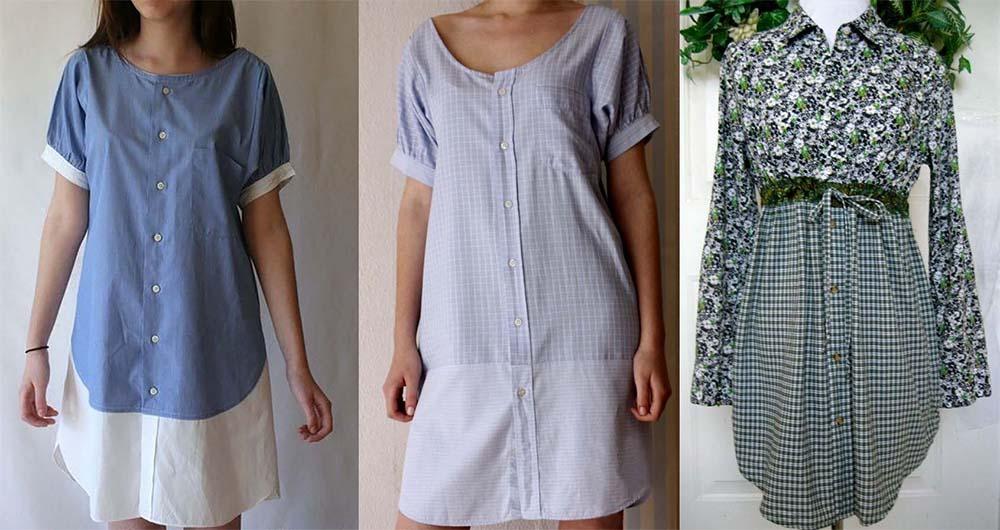 Платья Из Старых Рубашек