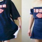 платье из футболки